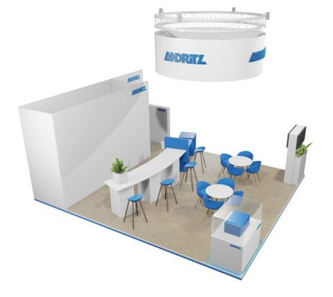 Andritz @ Aquatech 2019 design